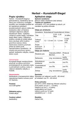 Herbol – Kunststoff