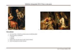 Biblická olympiáda 2015: Práca s obrazom
