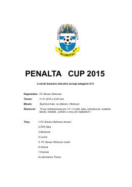 PENALTA CUP 2015