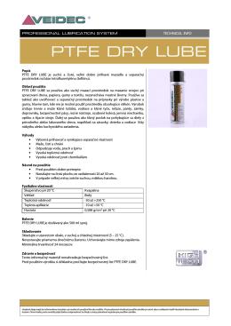 PTFE Dry Lube