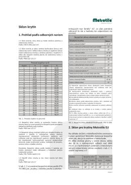 Sklon krytín - Popis576.68 KB