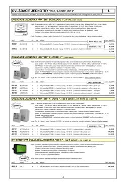 1.ovlÁdacie jednotky (pdf - 676.33 kB)