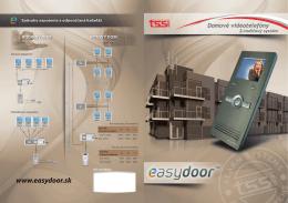 easydoor leták - JCsecurity.sk