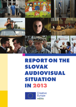 REPORT ON THE SLOVAK AUDIOVISUAL SITUATION IN 2013