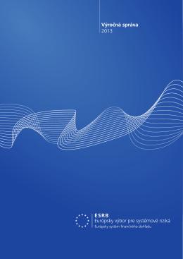 ESRB – Výročná správa 2013 - European Systemic Risk Board