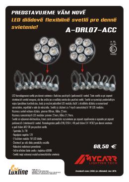 A-DRL07-ACC - LUXLINE spol. s ro