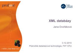 XML databázy