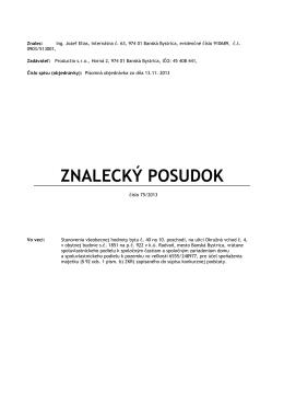 posudok 75-2013