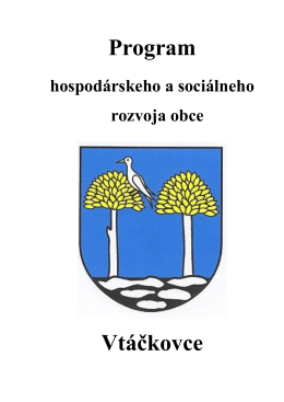Program Vtáčkovce