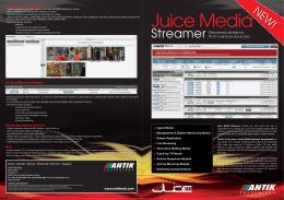 Juice media streamer