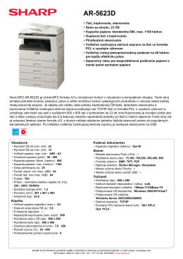 AR5623D - proficopy.sk