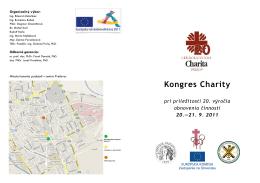 Kongres Charity - Viac na chudoba.sk