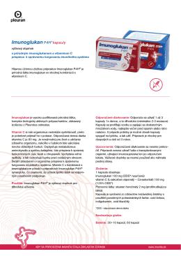 Imunoglukan P4H® kapsuly