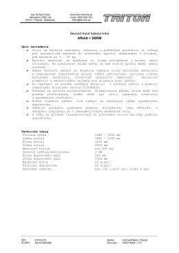 Second-hand baliaca linka Affeldt + SBRM