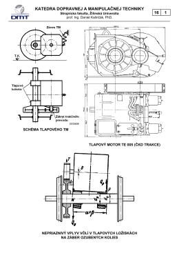 katedra dopravnej a manipulačnej techniky 16 1 - KDMT