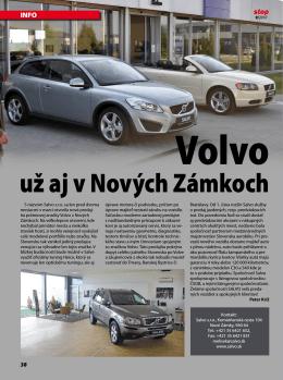 Volvo už aj v Nových Zámkoch