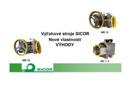 Stiahnite si prezentáciu výťahového stroja Sicor - Lift
