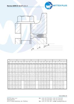 Norma ASME B 16.47 séria A