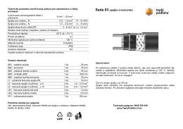 SADA 03 Spojka a koncovka inštalačný návod