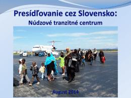 Zuzana Vatráľová – Presídľovanie cez Slovensko