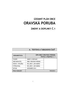 Príloha 9 - Oravská Poruba