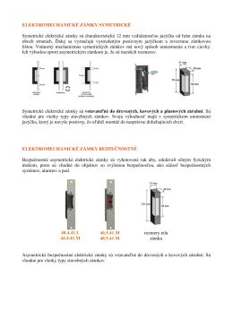 Elektricke zamky (doplnky k dveram)