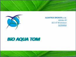 BiO AQUA FOG - Albatros Broker sro
