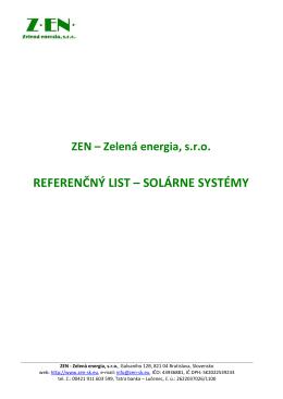 ZEN-Zelena energia_Referencny list