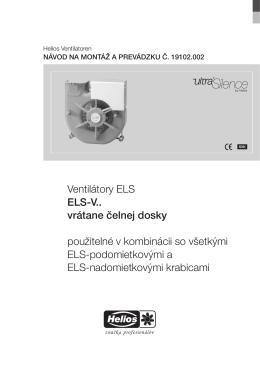 ELS-V navod_19102.002_0310 v7