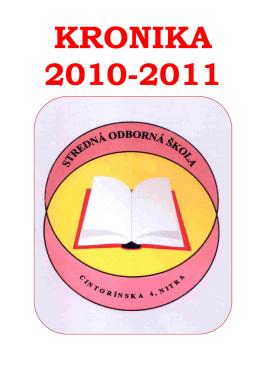 1.miesto - Stredná odborná škola, Cintorínska 4, Nitra