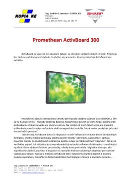 Promethean ActivBoard 300