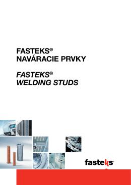 FASTEKS® Naváracie Prvky / Welding Studs - KVT