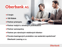 Oberbank AG - Advantage Austria