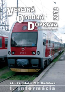 24. – 25. október 2013, Bratislava