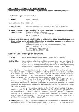 2-OZNÁMENIE-Zmena 04-2012 Drahovce