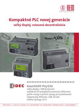 Kompaktné PLC novej generácie