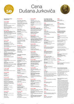 Cena DJ-prehlad.pdf - Spolok architektov Slovenska