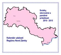Kalendár udalostí Regiónu Nové Zámky