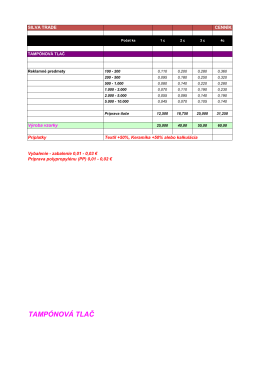 Kompletný cenník služieb (PDF)