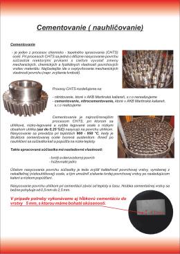 Prezentácia AKB Martinská kaliareň, s.r.o. LISTY SK 2013