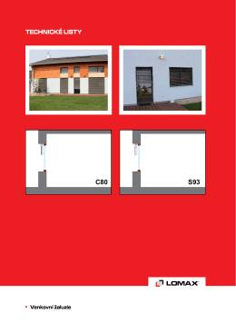 C80 S93 - LOMAX & Co s.r.o.