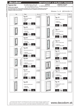 2014-03-11 EEK Typový list Obývačka+Spálňa TIROL SK.cdr