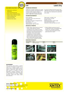 Xintex: Lubrix Dry [web]