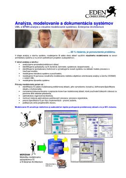 Analýza, modelovanie a dokumentácia systémov