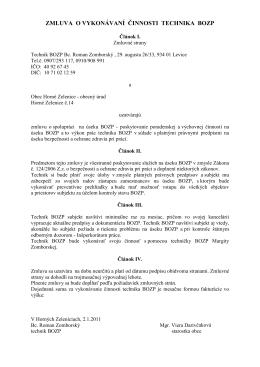 Zmluva -Zomborský PO