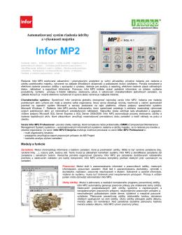 infor MP2