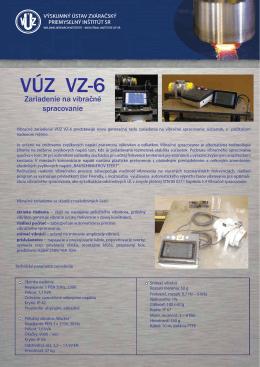 VÚZ VZ-6 - Výskumný Ústav zváračský