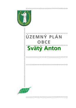 text - obec Svätý Anton