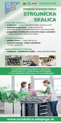 Stredná odborná škola strojnícka Skalica