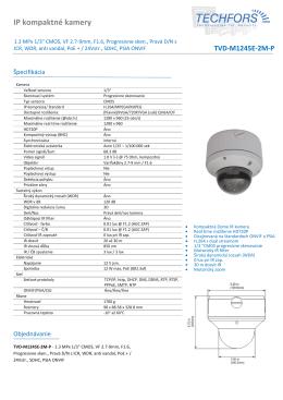 IP kompaktné kamery